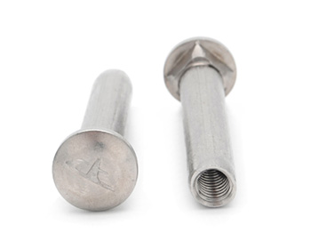 不锈钢带内螺纹马车螺丝