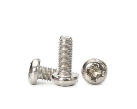 不锈钢十字盘头螺丝