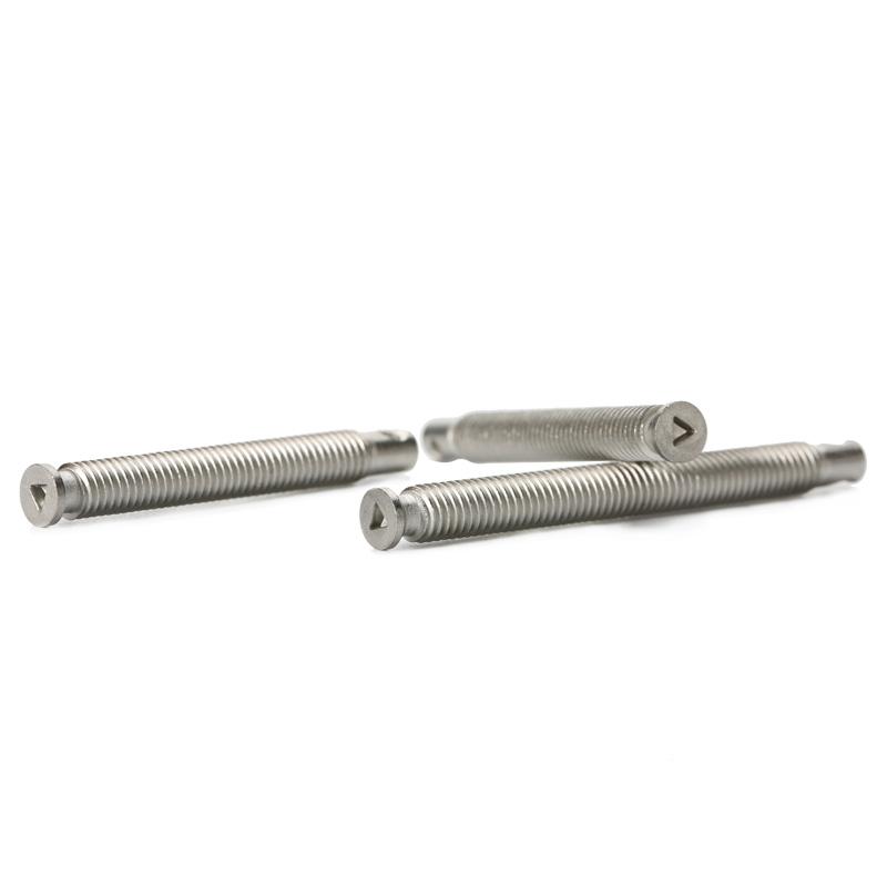 不锈钢非标沉头三角螺丝