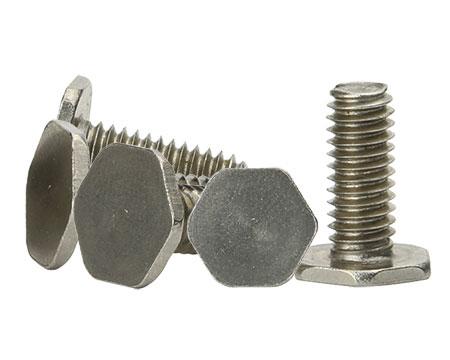 不锈钢六角薄头螺丝