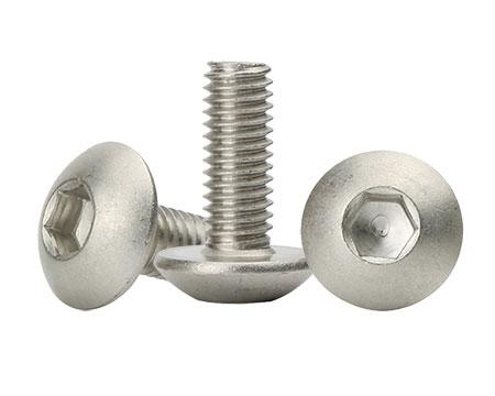 非标不锈钢螺丝内六角盘头螺丝