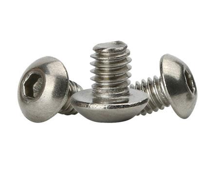 316不锈钢内六角盘头螺丝非标螺丝