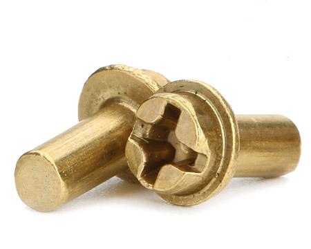盘头带介铜铆钉