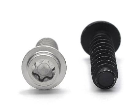不锈钢黑色达克罗螺丝