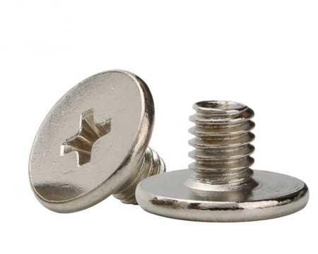 m1.2十字平头钟表小螺丝