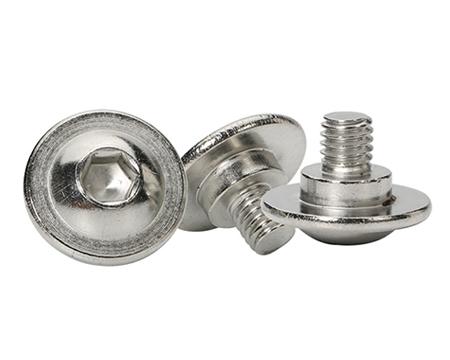 非标不锈钢半圆头内六角螺丝